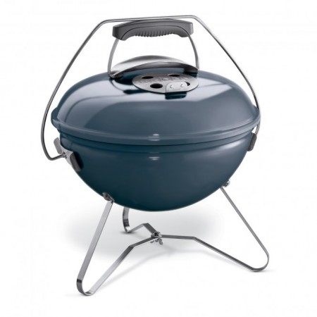 Smokey Joe Premium 37 cm, Slate Blue  Picknicker mit Extras