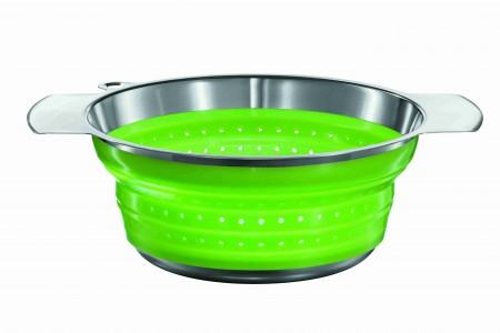 Seiher faltbar grün 24 cm