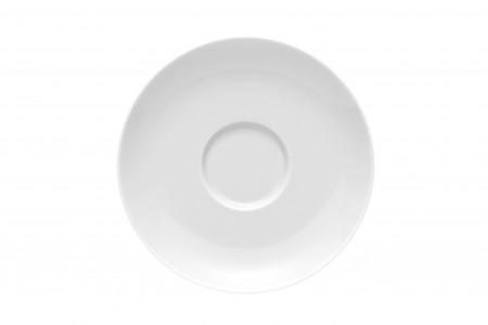 Moon Weiß Kaffee-Untertasse 14,5 cm