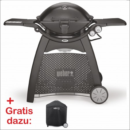 Weber® Q 3200-Gasgrill Schwarz W1 Set