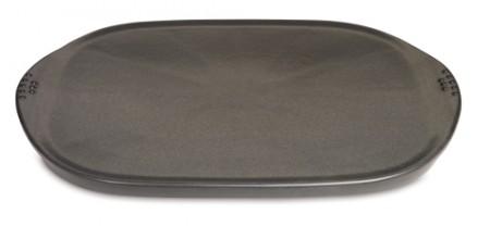 Keramische Grillplatte für alle Holzkohlegrills ab 47 cm und für alle Gasgrills ab Q100