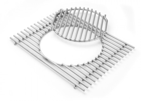 Gourmet BBQ System  - Grillrost mit Rosteinsatz für Summit 400- und 600-Serie