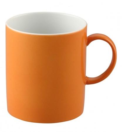 Henkelbecher - Orange
