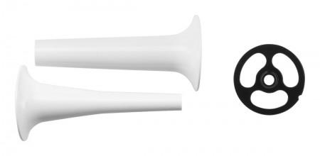 Wurstfüllhorn mit 2 Kegeln für Fleischwolf (FGA)