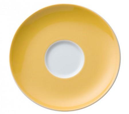 Kombi / Tee-Untertasse - Yellow