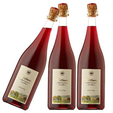 Prisecco rotfruchtig - lecker ohne Alkohol