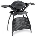 Weber Q 2400 Stand, Dark Grey  Das Familien-Modell als komfortable Grillstation