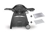 Weber® Q 3200-Gasgrill Schwarz