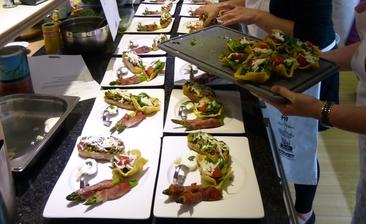 Küchenparty-Reise durch die Vorspeisen der Welt  Mi. 15.05.2019  18:30 - 23:00 Uhr