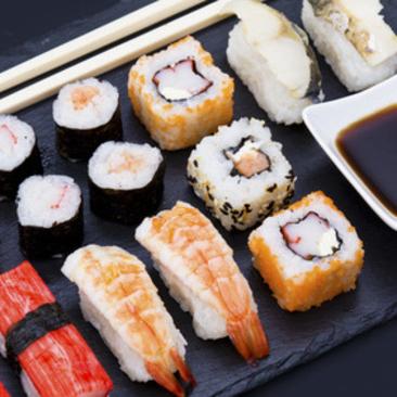 Sushi   Mo. 06.07.2020    18:30-21:30 Uhr