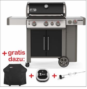 Genesis® II EP-335 GBS - Gasgrill  Schwarz Set 1