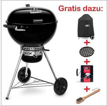 Master-Touch GBS Premium E-5775 - Holzkohlegrill 57cm Schwarz Set W1
