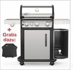 Spirit™ E-335™ Premium GBS™ 60 x 44 cm Edelstahl W1 Set