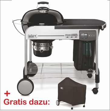 Performer Deluxe GBS - Holzkohlegrill 0 57 cm Schwarz W1 Set