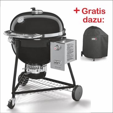 Summit® Charcoal Grill - Holzkohlegrill 0 61 cm Schwarz Set W1