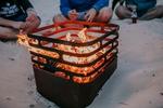 höfats Cube schwarz Feuerkorb | Grill | Hocker