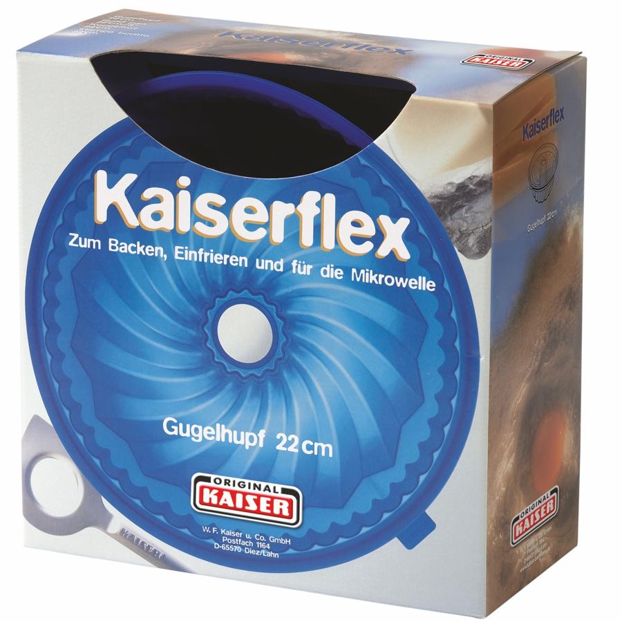kaiser backform silikon kaiserflex gugelhupf 22 cm 681016. Black Bedroom Furniture Sets. Home Design Ideas