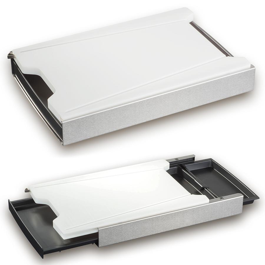 schneidbox mit schneidebrett in kunststoff. Black Bedroom Furniture Sets. Home Design Ideas