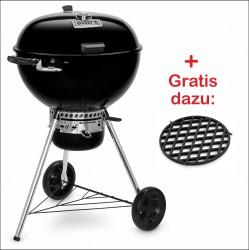Master-Touch GBS Premium E-5775 - Holzkohlegrill 57cm Schwarz W1 Set