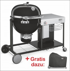 Summit® Charcoal Grilling Center - Holzkohlegrill 0 61 cm Schwarz Set W1
