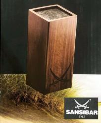 Roesle Messerblock Sansibar unbestückt