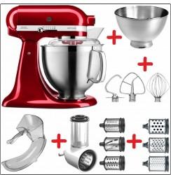 Set-Angebot C KitchenAid Artisan Premium 185 farbig plus 8 Teile
