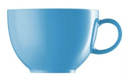Kombi / Tee-Obertasse - Waterblue