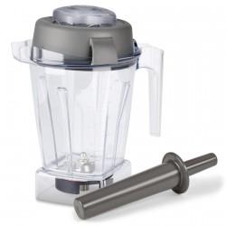 TNC 1.4 L TRITAN Behälter für Nass-/Trockenzubereitungen mit Deckel und Stößel